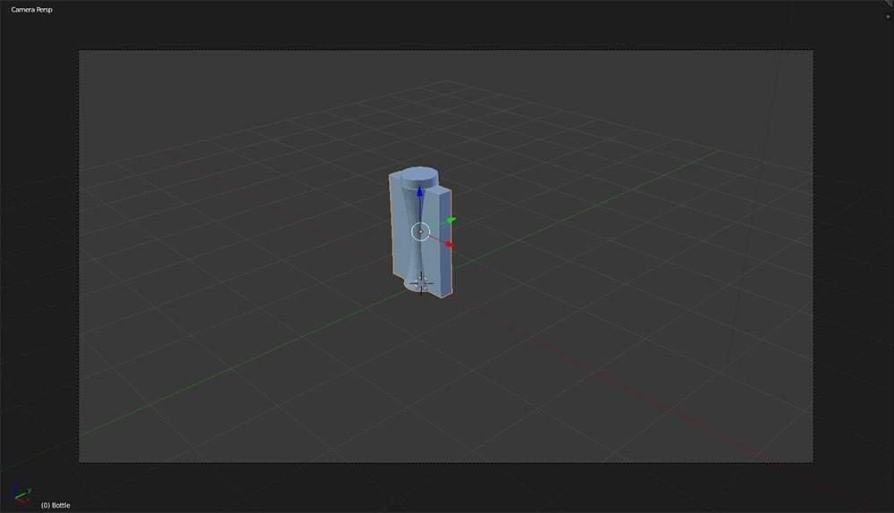 SolidWorks model imported into Blender