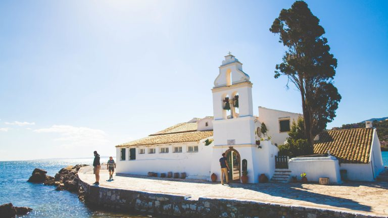 We love Greek islands and free stock photography